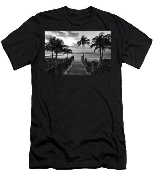 Calm Before Storm Men's T-Shirt (Athletic Fit)