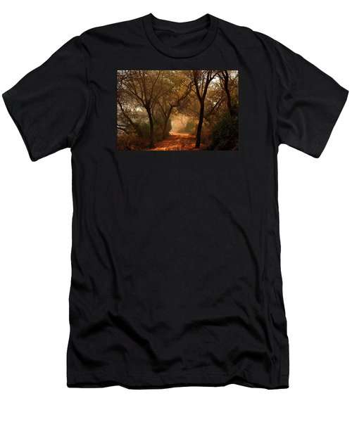 Calm Nature As Fantasy  Men's T-Shirt (Athletic Fit)