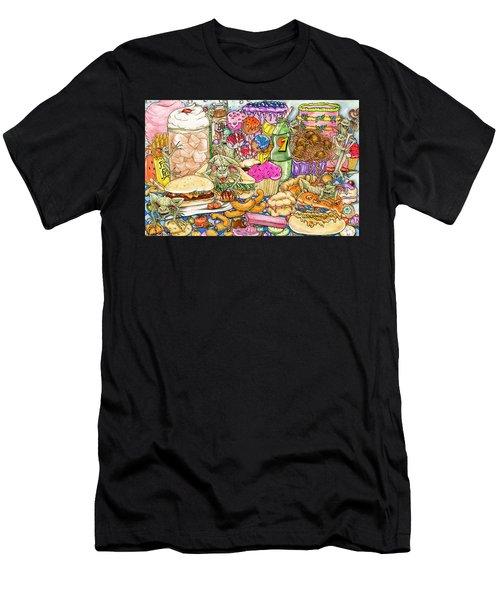 Calorie Gremlins Men's T-Shirt (Athletic Fit)