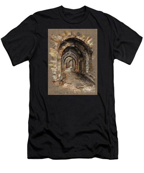 Camelot -  The Way To Ancient Times - Elena Yakubovich Men's T-Shirt (Athletic Fit)