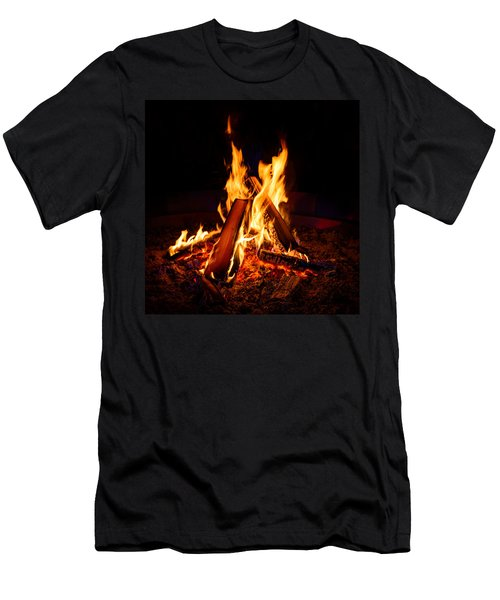 Camp Fire Men's T-Shirt (Athletic Fit)