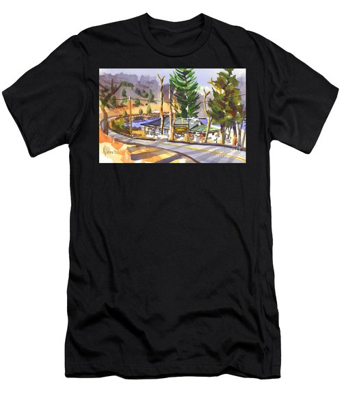 Camp Penuel At Lake Killarney Men's T-Shirt (Athletic Fit)