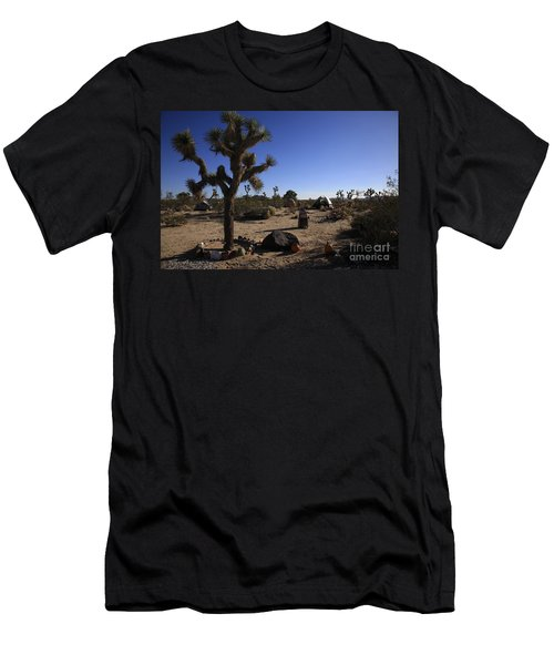 Camping In The Desert Men's T-Shirt (Athletic Fit)
