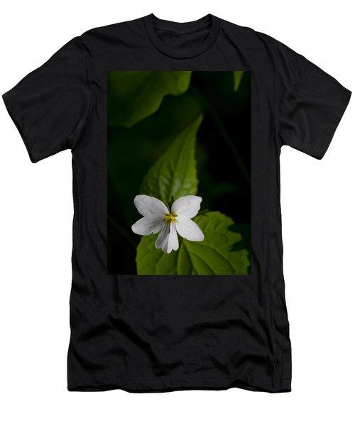 Canada Violet Men's T-Shirt (Slim Fit) by Melinda Fawver