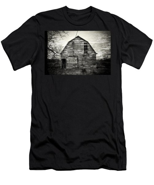 Canadian Barn Men's T-Shirt (Athletic Fit)