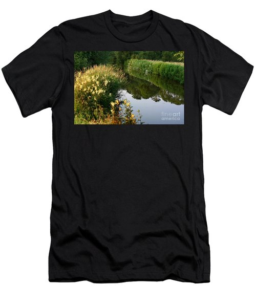 Canal Reflections Men's T-Shirt (Athletic Fit)