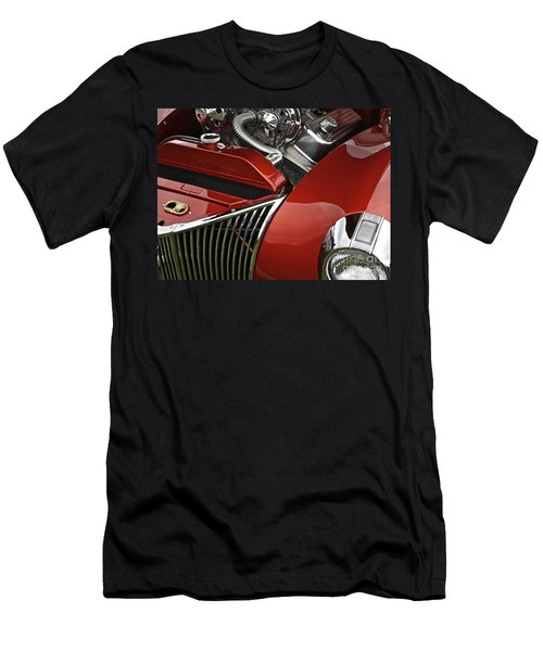 Candy Apple Red And Chrome Men's T-Shirt (Athletic Fit)
