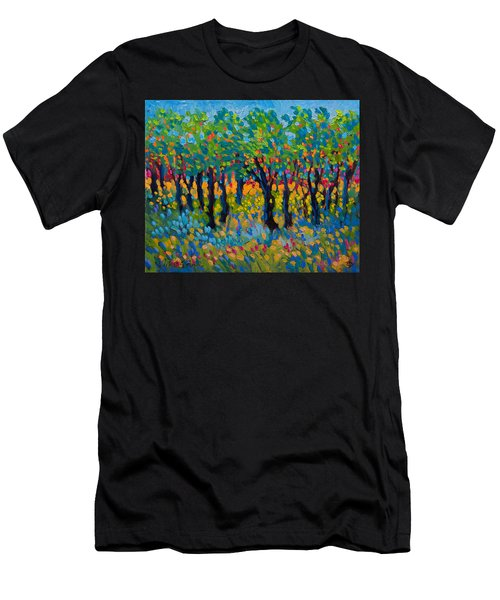 Candy Wood Men's T-Shirt (Athletic Fit)