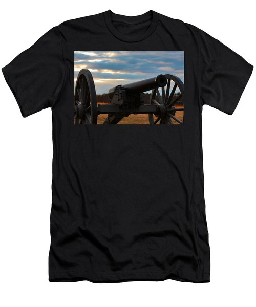 Cannon Of Manassas Battlefield Men's T-Shirt (Athletic Fit)