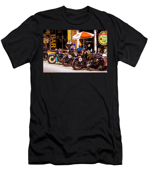 Cannonball Motorcycle Colors Men's T-Shirt (Athletic Fit)
