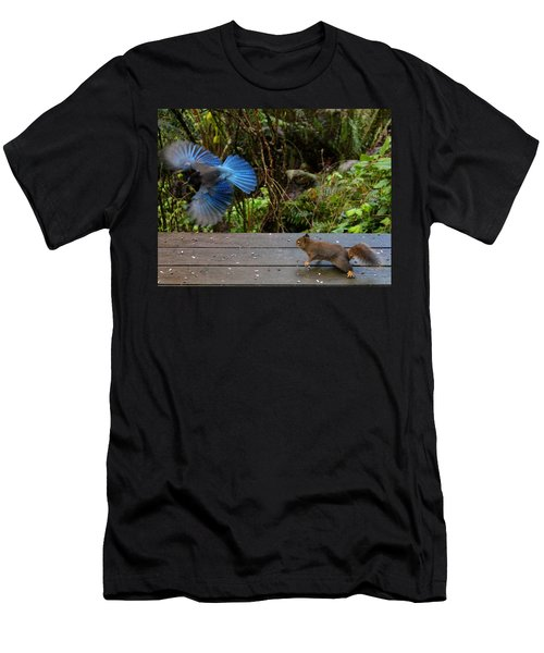 Can't We All Just Get Along? Men's T-Shirt (Athletic Fit)