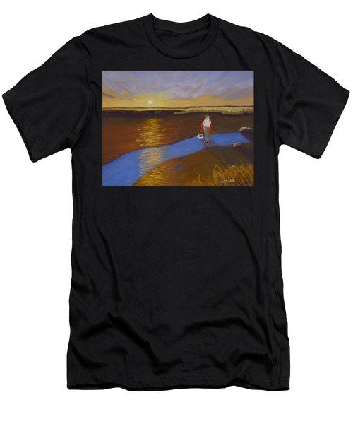 Cape Cod Clamming Men's T-Shirt (Athletic Fit)