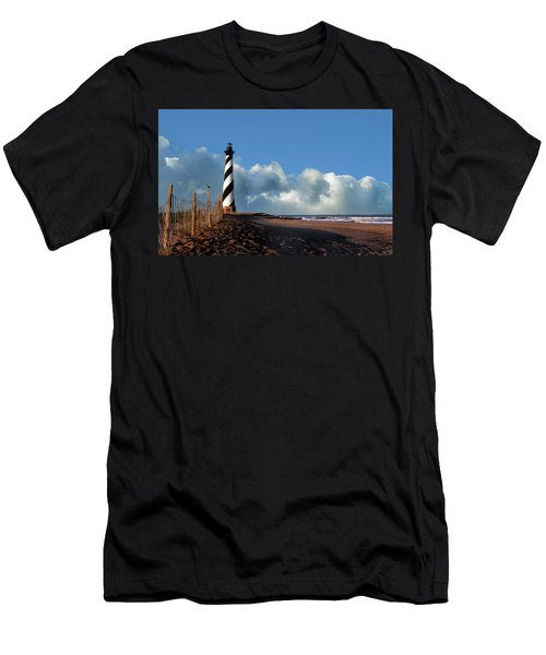 Cape Hatteras Lighthouse Nc Men's T-Shirt (Athletic Fit)