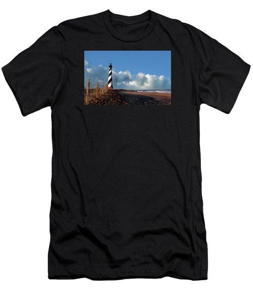 Cape Hatteras Lighthouse Nc Men's T-Shirt (Athletic Fit)