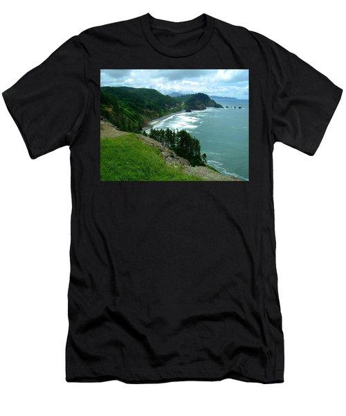 Cape Meares Men's T-Shirt (Athletic Fit)
