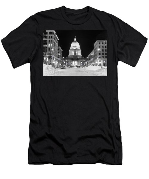 Capitol Madison Wisconsin Men's T-Shirt (Athletic Fit)