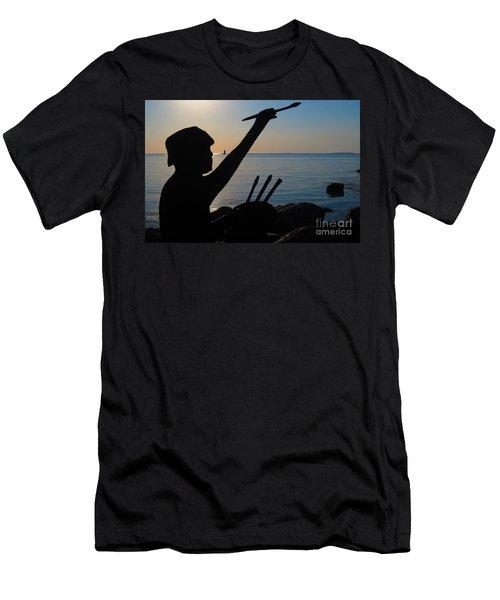 Capturing  New Castle Men's T-Shirt (Athletic Fit)