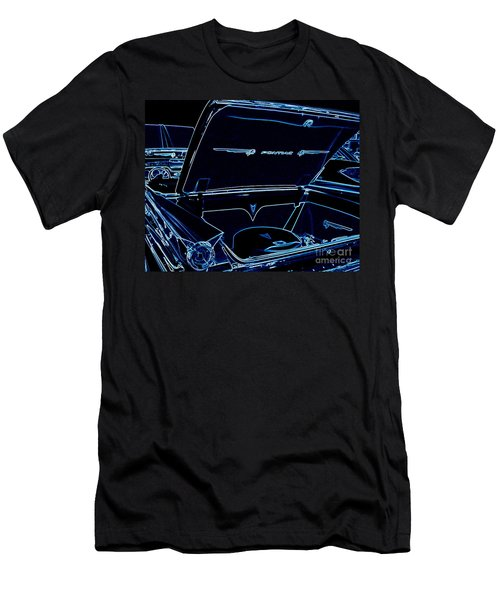 Men's T-Shirt (Slim Fit) featuring the digital art Car Blues by Bobbee Rickard