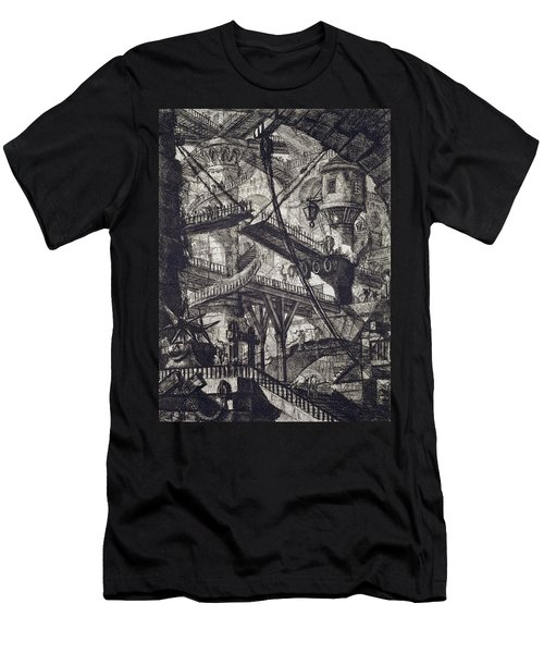 Carceri Vii Men's T-Shirt (Athletic Fit)