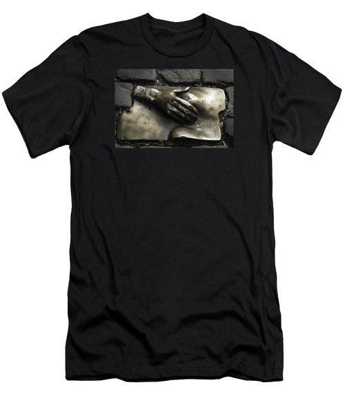 Caress Bronze Relief Amsterdam Men's T-Shirt (Athletic Fit)