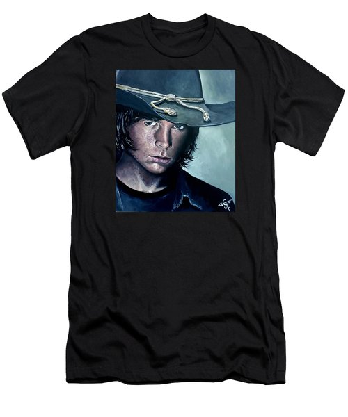 Carl Grimes Men's T-Shirt (Athletic Fit)