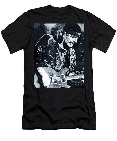 Carlos Santana - Black Magic Woman Men's T-Shirt (Athletic Fit)