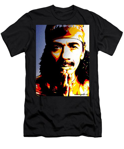 Carlos Santana. Men's T-Shirt (Athletic Fit)