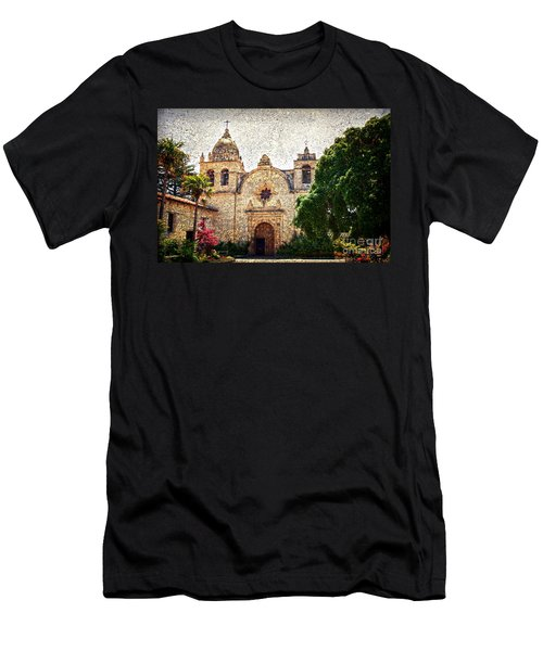 Carmel Mission Men's T-Shirt (Athletic Fit)