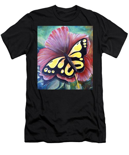 Carnival Butterfly Men's T-Shirt (Athletic Fit)