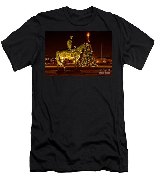 Men's T-Shirt (Athletic Fit) featuring the photograph Carol Of Lights by Mae Wertz