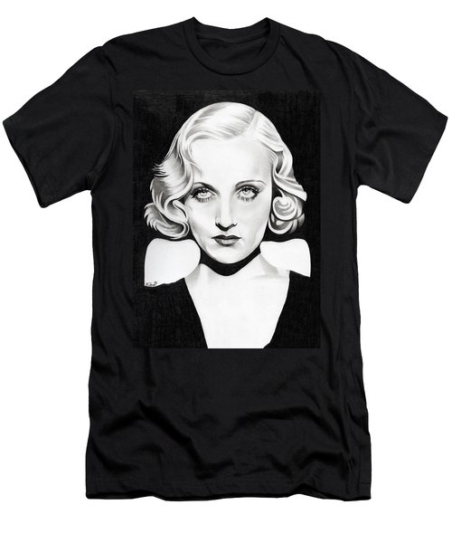 Carole Lombard Men's T-Shirt (Slim Fit) by Fred Larucci
