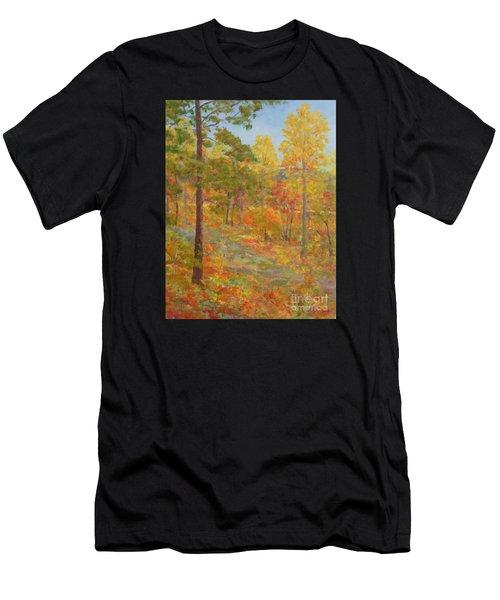 Carolina Autumn Gold Men's T-Shirt (Athletic Fit)