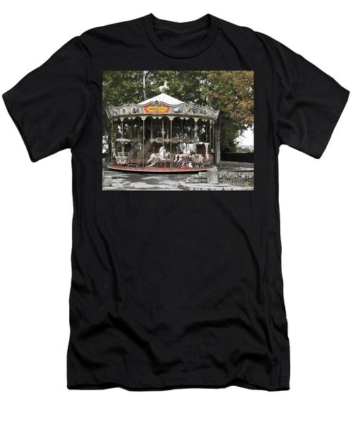 Carousel Men's T-Shirt (Slim Fit)