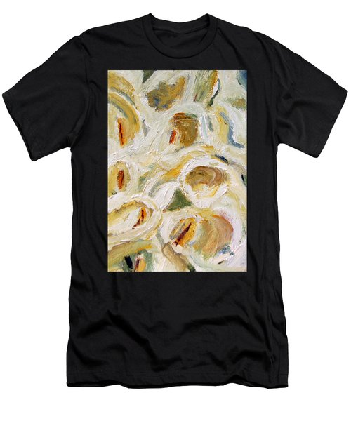 Cascade Of Calla Lillies Men's T-Shirt (Athletic Fit)