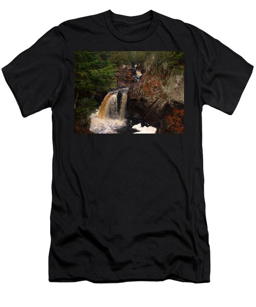 Cascade River Men's T-Shirt (Athletic Fit)