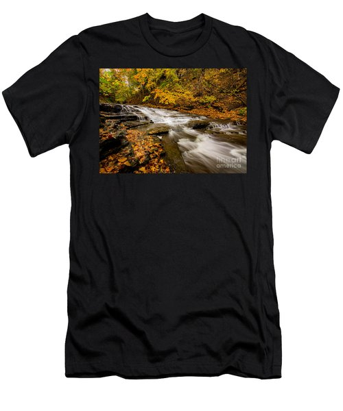 Cascadilla Gorge Trail Men's T-Shirt (Athletic Fit)