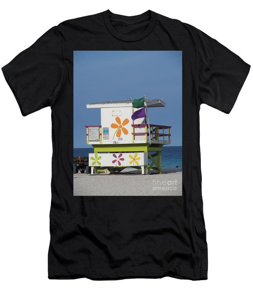 Casita De Playa Men's T-Shirt (Athletic Fit)