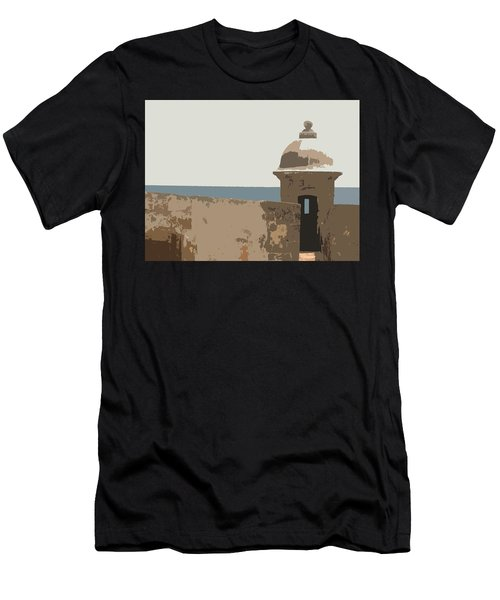 Guard Post Men's T-Shirt (Athletic Fit)
