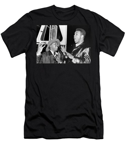 Cassius Clay Predicts Eight Men's T-Shirt (Athletic Fit)
