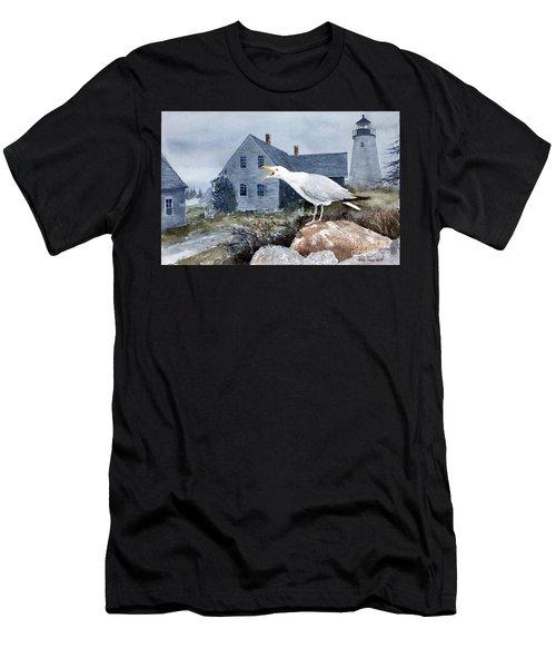 Castine Call Men's T-Shirt (Athletic Fit)