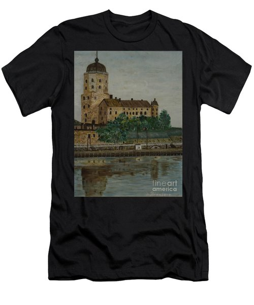 Castle Of Vyborg Men's T-Shirt (Athletic Fit)