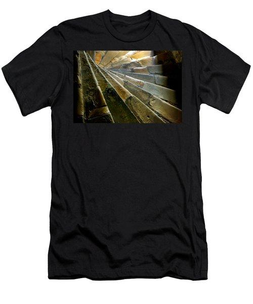 Castle Steps Men's T-Shirt (Athletic Fit)