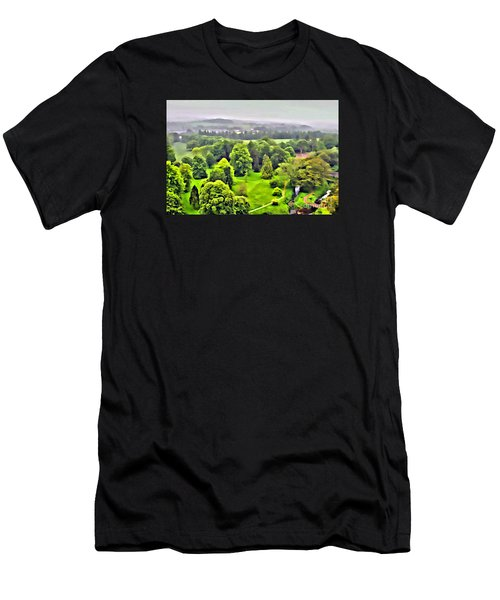 View From The Castle Men's T-Shirt (Athletic Fit)