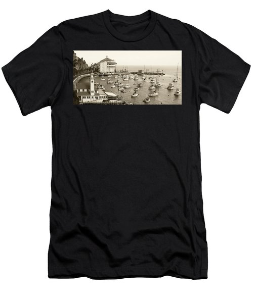 Catalina Island. Avalon Men's T-Shirt (Athletic Fit)