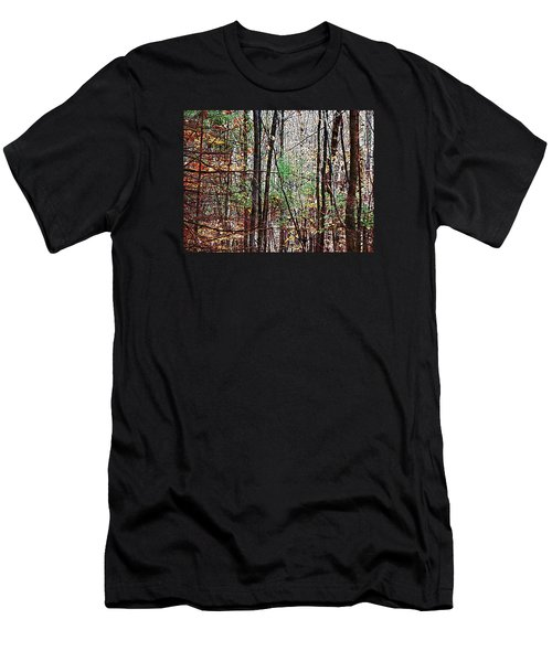 Cathedral In The Woods Men's T-Shirt (Slim Fit) by Joy Nichols