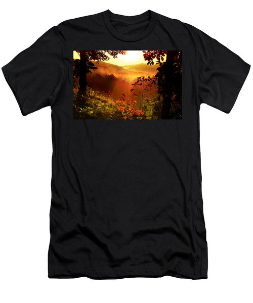 Cathedral Of Light Men's T-Shirt (Slim Fit) by Rob Blair