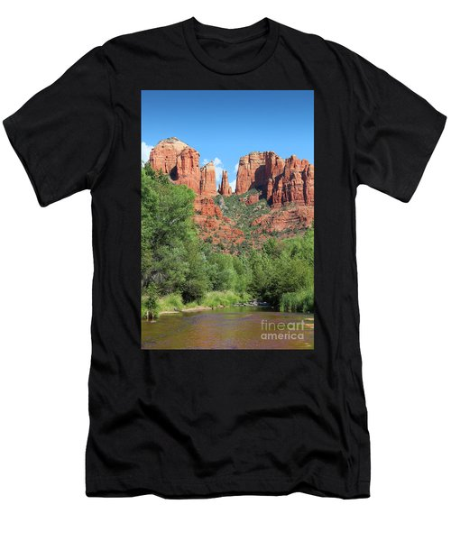 Cathedral Rock Sedona Men's T-Shirt (Athletic Fit)