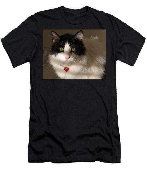 Cat's Eye Men's T-Shirt (Athletic Fit)
