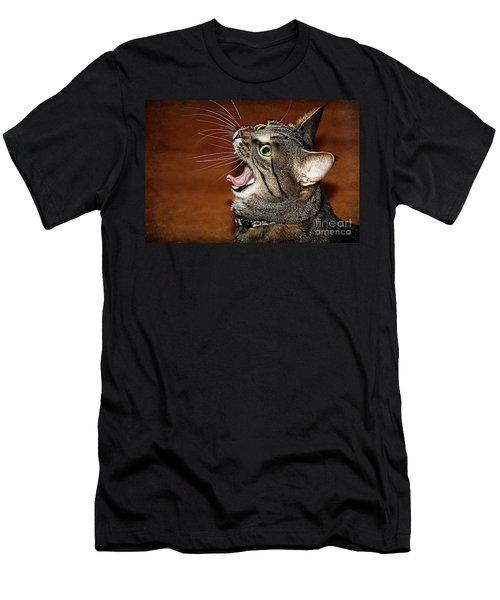 Caught In The Act Men's T-Shirt (Athletic Fit)