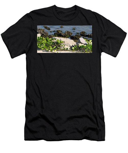 Causeway Shore Blues Men's T-Shirt (Athletic Fit)